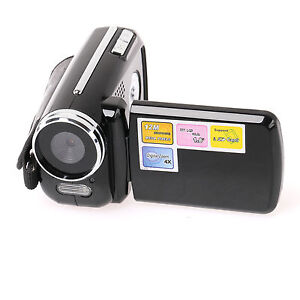 New-Mini-Digital-Video-Camera-DV-Camcorder-4-x-zoom-1-8-LCD-720P-12MP-US-Seller