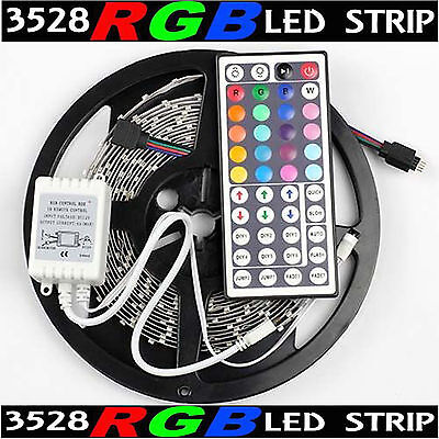 3528 led strip waterproofebay 1 16ft multi color 3528 smd rgb 300led 5m flexible led strip light44key ir mozeypictures Gallery