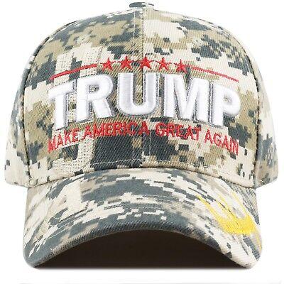 The Hat Depot Exclusive Trump Hat  Make America Great Again-Digi Camo