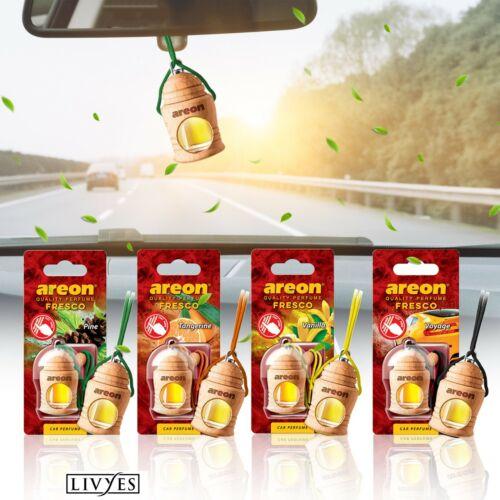 AREON Fresco LONG Lasting Natural Car Oil Fragrance Hanging Car Air Freshener