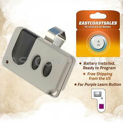 Sears Craftsman 1 Button Garage Door Opener Remote Transmitter Tx2028 315mhz Tools Home Improvement Garage Doors Openers Parts