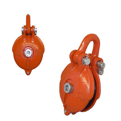 Bail Snatch Block Hoist Rigging Shackle Pulley Size 5 Inch Wll 4.5 Ton