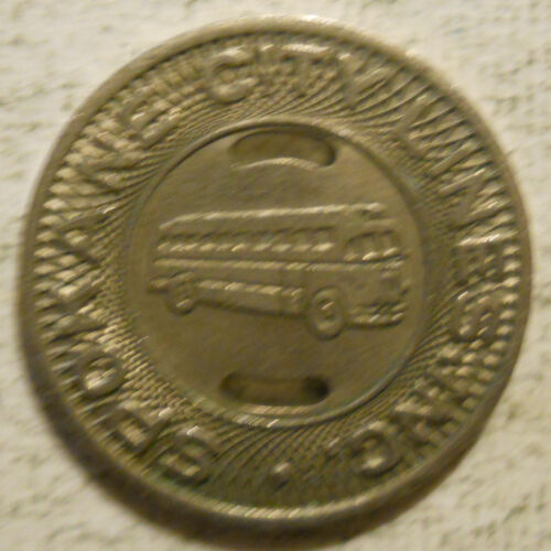Spokane City Lines (Washington) school transit token -  WA840R