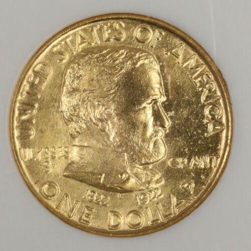 1922 Ulysses S. Grant Gold Commemorative. NGC MS65. SHOW151/JANQ
