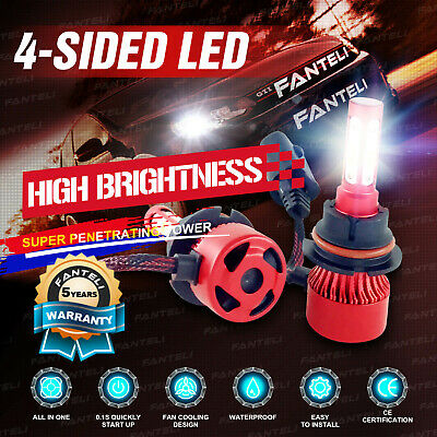 9004 HB1 2405W 360750LM LED Headlight Set Hi/Lo Beam Bulb White 6000K High Power