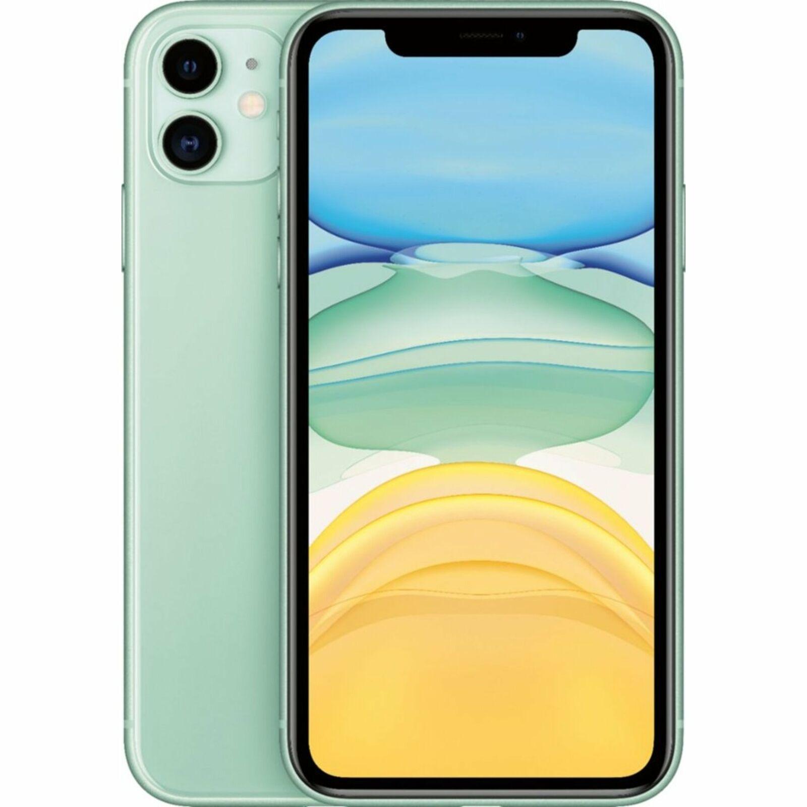 Apple iPhone 11 256GB Fully Unlocked (Verizon + Sprint + GSM Unlocked) - Green