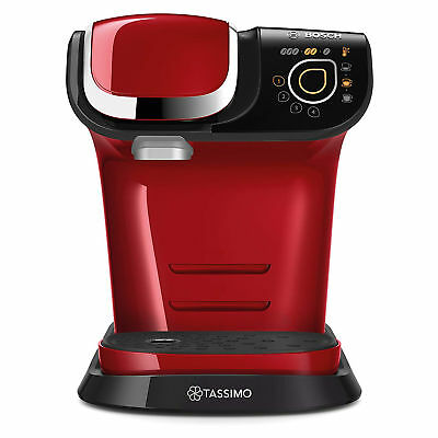 Bosch TAS6003GB Tassimo My Way Coffee Machine - Red
