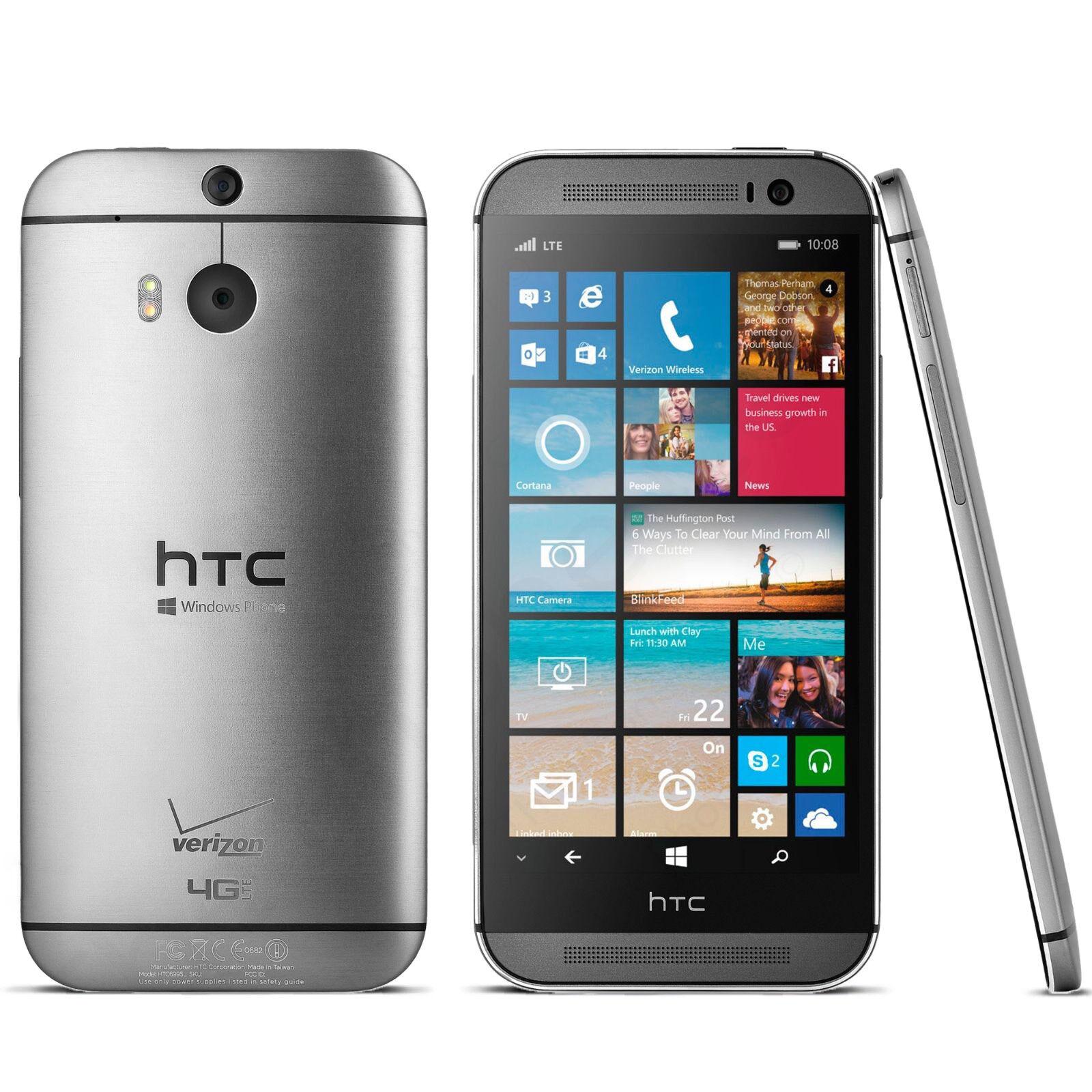 Htc One - Unlocked-Verizon-HTC-One-M8-Gunmetal-Gray-6995L-GSM-LTE-Windows-Smartphone