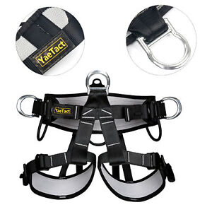 Pro Tree Carving Fall Protection Rock Climbing Equip Gear Rappelling Harness USA