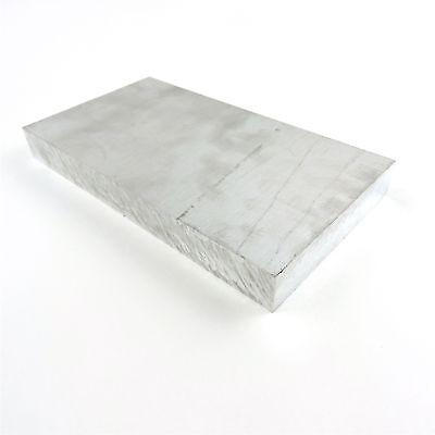 1.375 Thick 1 38 Aluminum 6061 Plate 7.625 X 15.625 Long Sku 174425