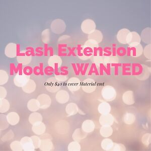 Lash Extension Model WANTED
