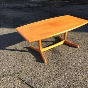 vintage style coffee table, wood coffee table WE CAN DELIVER