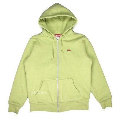 Florale Fleece Hoodie (NWT Supreme Sage Green Box Logo Thermal Floral Hoodie Sweatshirt FW16 AUTHENTIC)