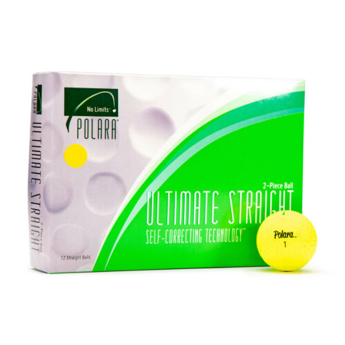 Polara Golf YELLOW Ultimate Straight Golf Balls