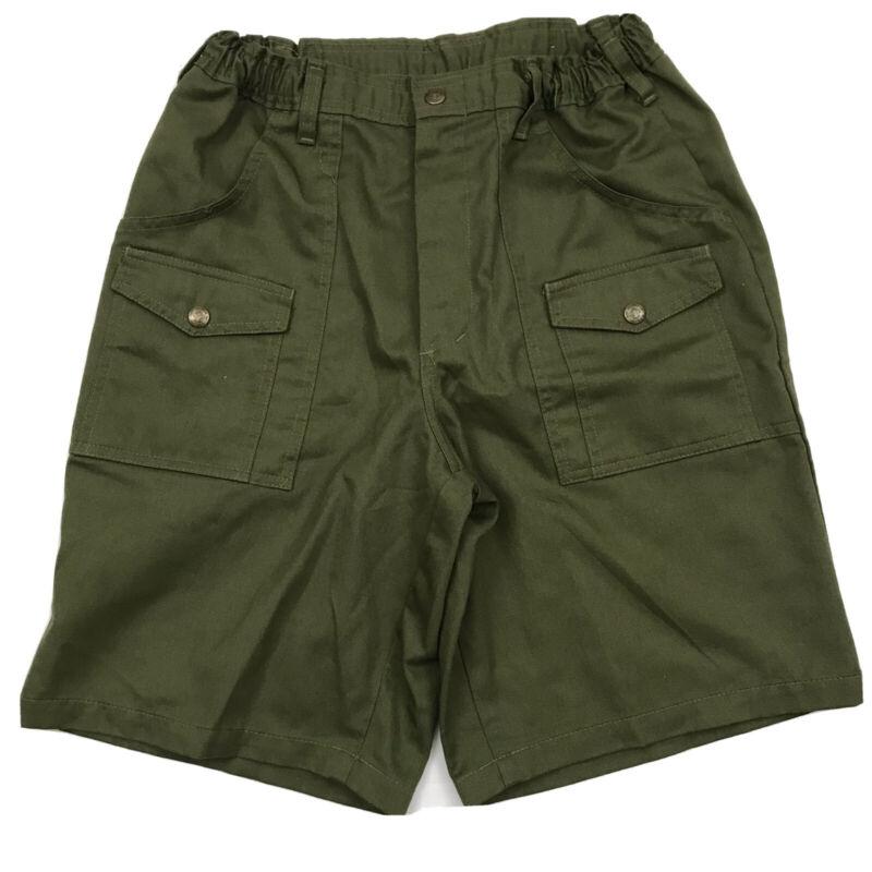 Boy Scouts of America BSA Official Cotton Canvas Cargo Shorts Sz 32