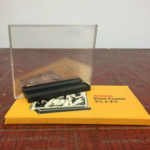 "Vintage Kodak Print Frame 3.5"" x 4.5"" Picture Photo Frame Mid Century Instant"