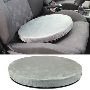 rotating swivel seat cushion dining chair car spinning mobility aid pad comfy ebay. Black Bedroom Furniture Sets. Home Design Ideas