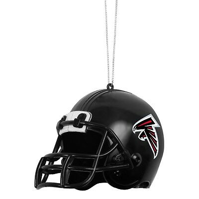 Atlanta Falcons Helmet Plastic Christmas Tree Holiday Ornament New Team Logo ()