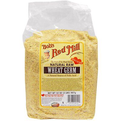Bob s Red Mill Natural Raw Wheat Germ 32 oz 907 g All-Natural, Kosher, Raw Bobs Red Mill Natural
