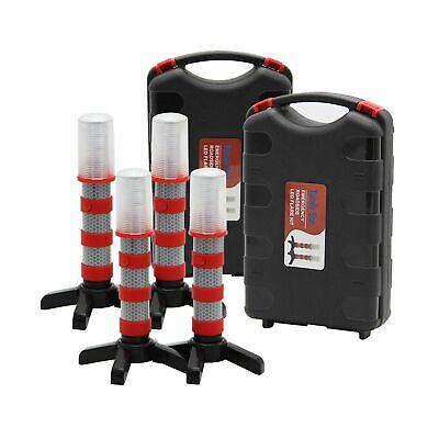 Twinkle Star Emergency Roadside Flares Kit Led Safety Strobe Road Warning Lig...