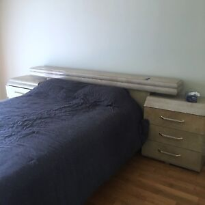 STEARNS and FOSTER mattress and bed frame QUINN SIZE