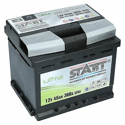 Original EXTREME ULTRA 12V 45 Ah 45Ah Premium Batterie NEU  +