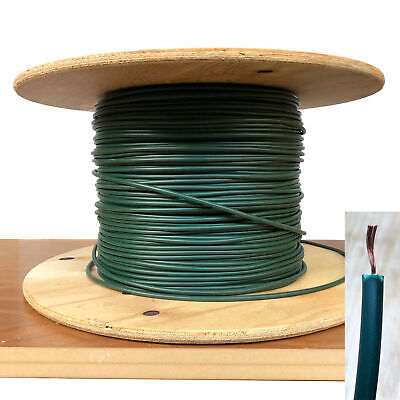 Copper Spark Plug Wire - 7mm Spark Plug HT Ignition Lead Cable Wire Copper Core PVC Green Car Motorcycle