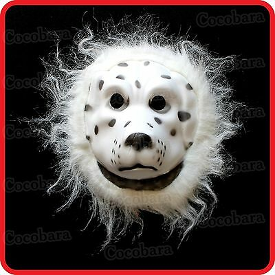 DALMATIAN DOG PUPPY MASK-PET-COSTUME-DRESS UP-COSPLAY-PARTY-HALLOWEEN (Pet Party Halloween)