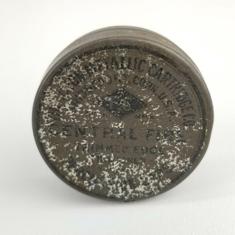 The Union Metallic Cartridge Co Central Fire Percussion Caps Tin w/ Caps! 1900s