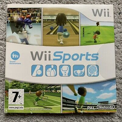 Wii Sports (Nintendo Wii, 2006) #New And Sealed#