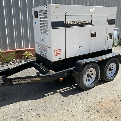 36kw Mq Power Portable Diesel Generator