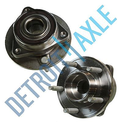 Both (2) Front Wheel Hub and Bearing Assembly for Chevy Volt Buick Verano