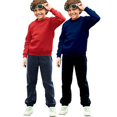 Kinder Jungen Sweatshirt Sweater Pullover Sport Freizeit Hose Übergang Oeko Tex