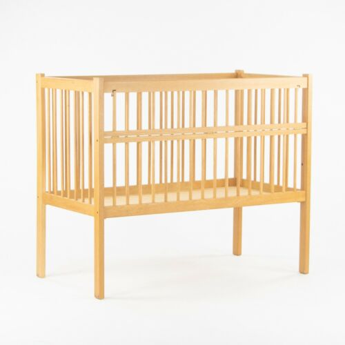 Custom & Handmade Charles Webb Design of Cambridge MA Oak Baby Crib Mid Century