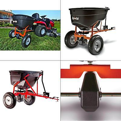 Tow Salt Seed Lawn Spreader Fertilizer Tractor Universal Hitch Agri-Fab 130 lb. Agri Fab Fertilizer Spreader