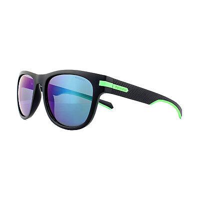 Polaroid Sunglasses PLD 2065/S 003 5Z Matt Black Green Grey Green Polarized