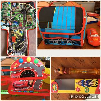 Thomas and Friends, Lightning McQueen & Wiggles toys