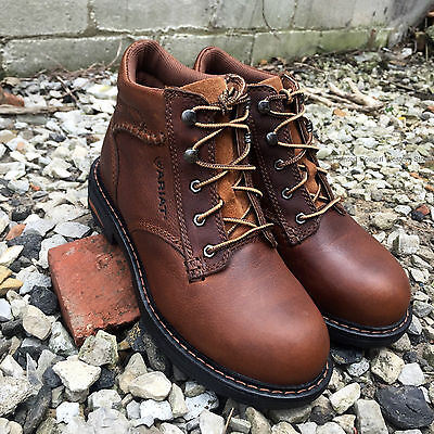 Ariat Women's Macey Brown Leather Comp Toe Lace Up Work Boots 10005949 Ariat Lace-up Boots