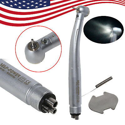 Fit Kavo Dental E-generator Led Fiber Optic High Speed Handpiece Turbina 4 Holes