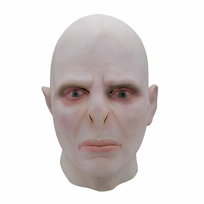 Voldemort Halloween Mask (Harry Potter Lord Voldemort Natural Latex Mask Cosplay Halloween Party)