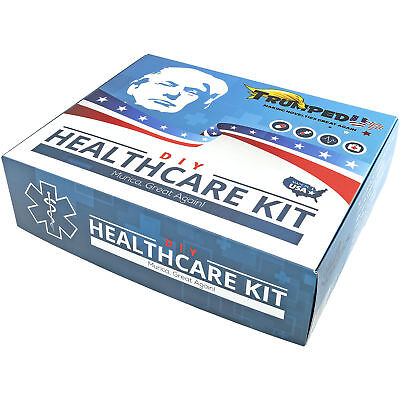 TRUMPEDUP DIY HEALTHCARE KIT NOVELTY GIFT BOX Gag Political Election Trump Novelty Gift Boxes