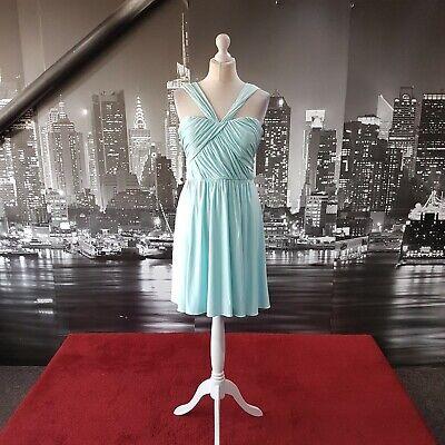 Jenny Yoo Dress (Size 14-Canal Blue-JY500) Prom, Ball, Bridesmaid, RRP £200+