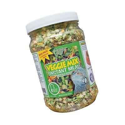Healthy Herp Veggie Mix Instant Meal 3.6-Ounce (102 Grams) Jar