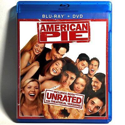 American Pie  Blu Ray Dvd  2012  2 Disc Set  Like New     Jason Biggs