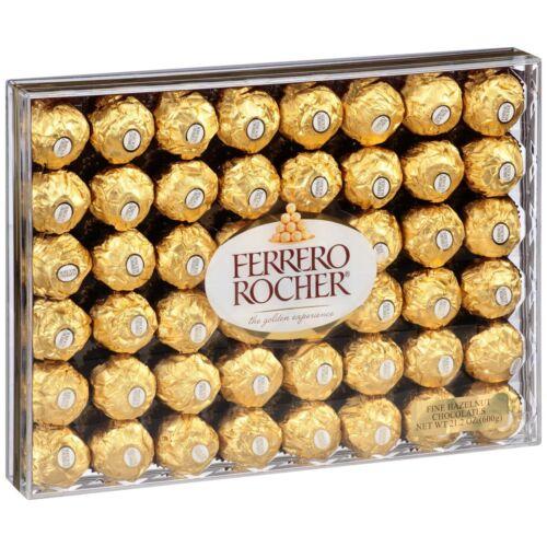 Ferrero Rocher® Fine Hazelnut Chocolates 21.2oz. 48Ct. FREE SHIPPING