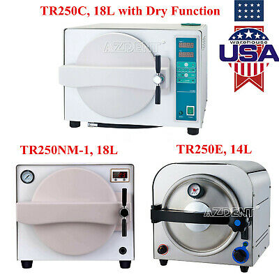 14l18l Dental Autoclave Medical Steam Sterilizer Sterilizationdrying Function