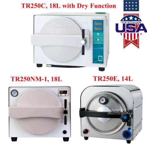 14L/18L Dental Autoclave Medical Steam Sterilizer Sterilization/Drying Function