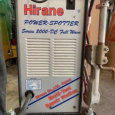 Spot Welder Hirane Power-spotter Series 2000-dc Full Wave Spot 3 Phase