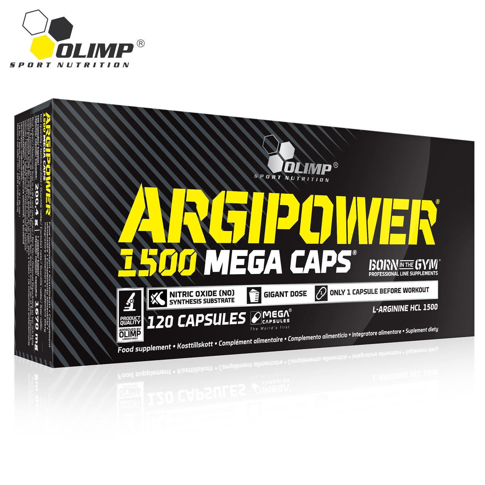 ARGIPOWER BLISTERS L-Arginine Nitric Oxide Muscle Pump & Grow Bodybuilding