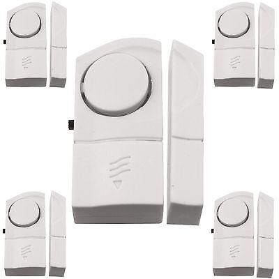 5 x Türalarm Fensteralarm Türschutz Fensterschutz Alarm Sicherheit Fenster Tür